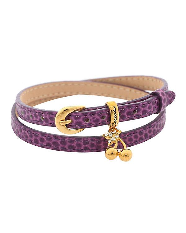 GUESS Armband lila