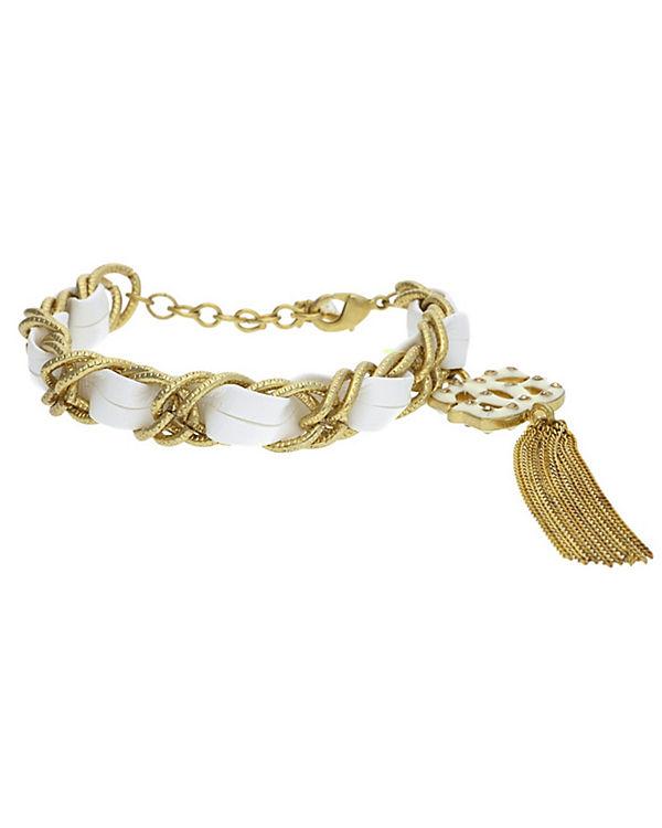 GUESS Armband weiß/gold