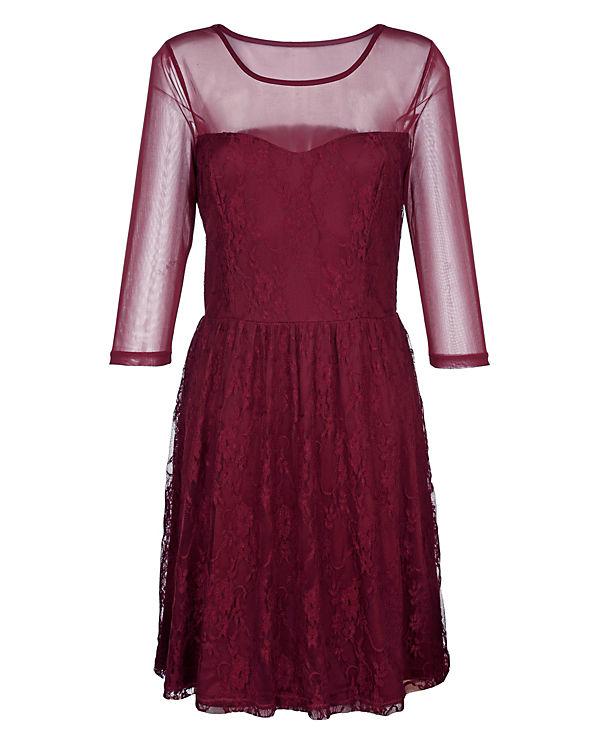 Laura Kent Kleid rot