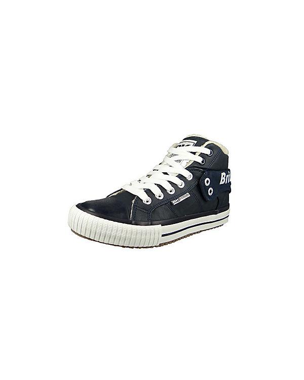 Sneakers High Roco blau