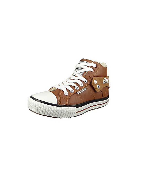 Sneakers High Roco braun