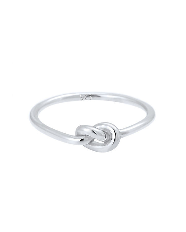 Elli Elli Ring Trend Knoten 925 Sterling Silber S0609371317 silber