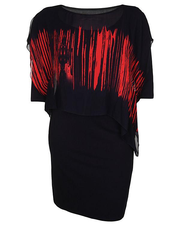 Doris Streich Jerseykleid 2-IN-1 schwarz