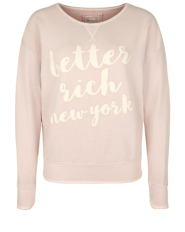 Better Rich Sweatshirt rosa