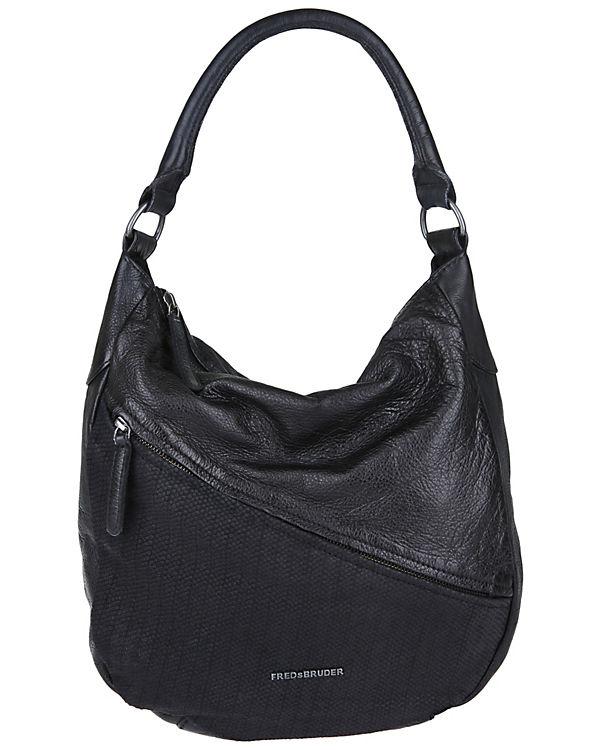FREDsBRUDER Handtasche POPULAR schwarz