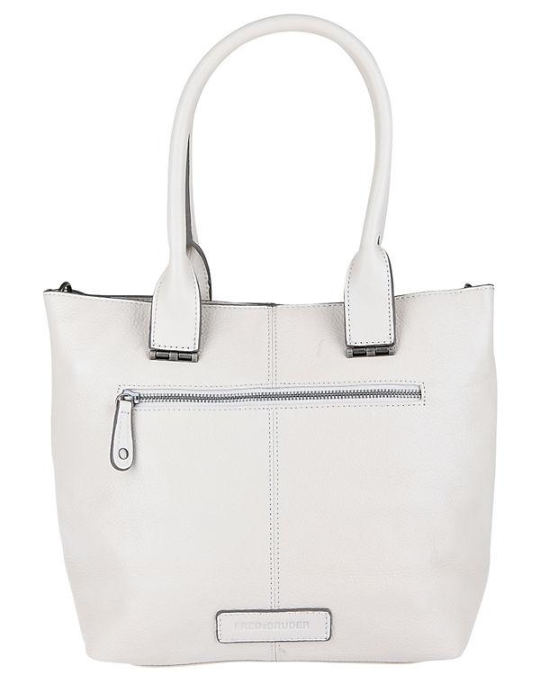 FREDsBRUDER Handtasche FLAPS weiß