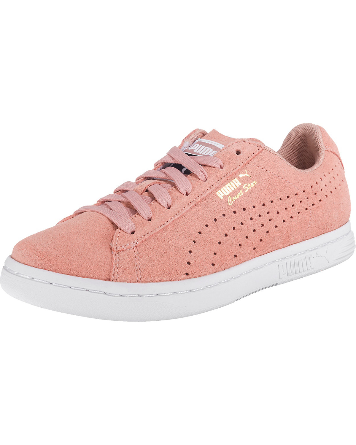 PUMA, Court Star Suede Sneakers Low, rosa
