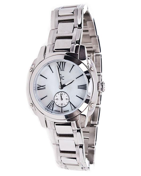 GUESS Armbanduhr chronograph silber
