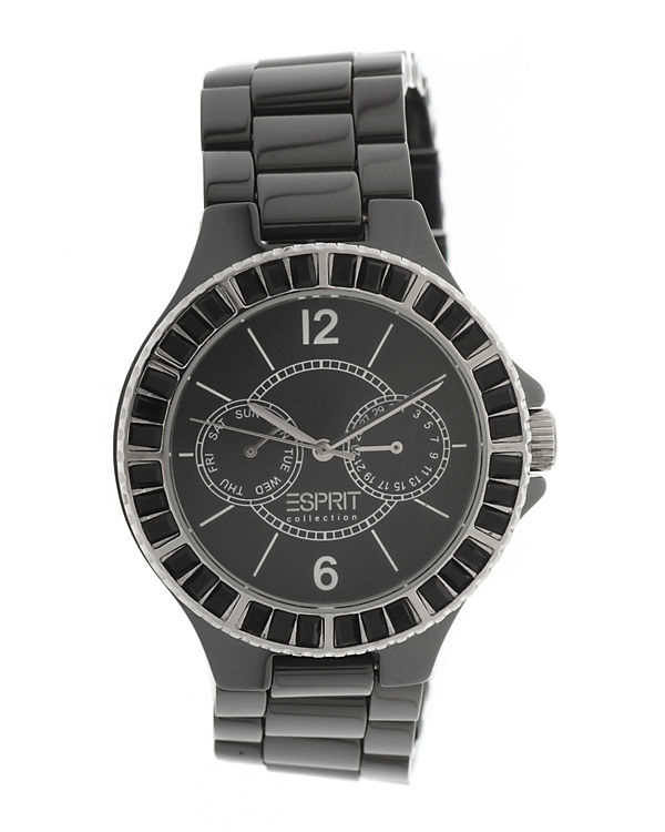 ESPRIT Armbanduhr Iris EL101332F09 schwarz