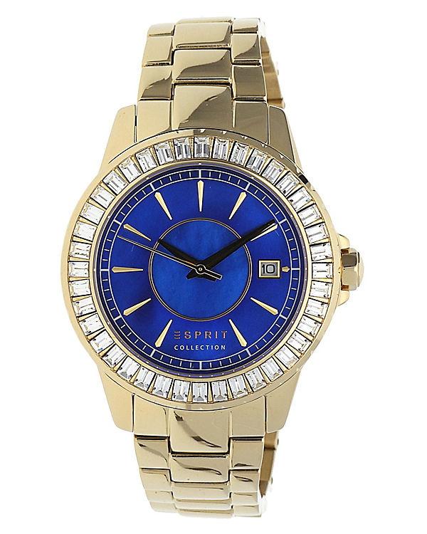 ESPRIT Armbanduhr Eurybia EL102082F06 gold