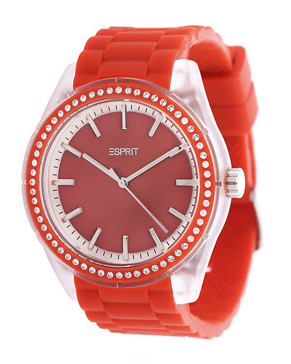 ESPRIT Armbanduhr Play Winter ES900692007 rot