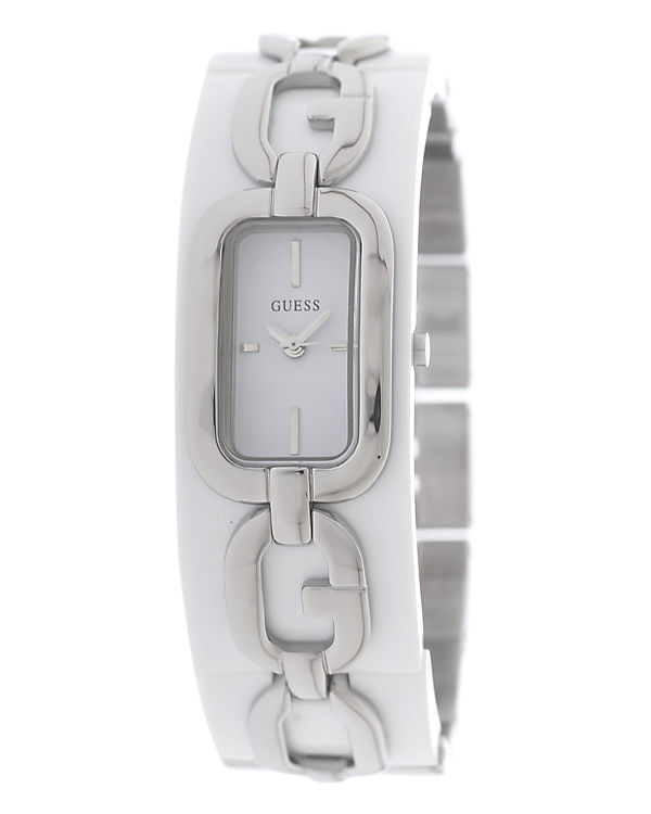 GUESS Armbanduhr W12119L1 silber