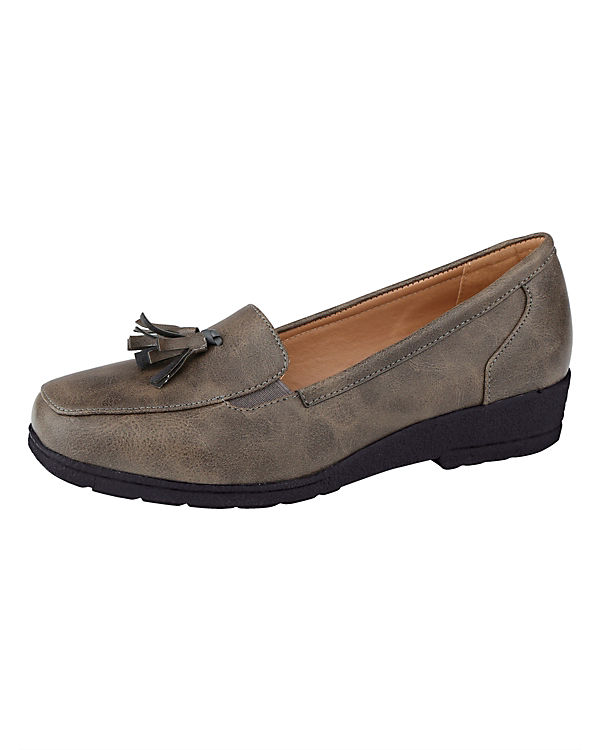 Loafers taupe