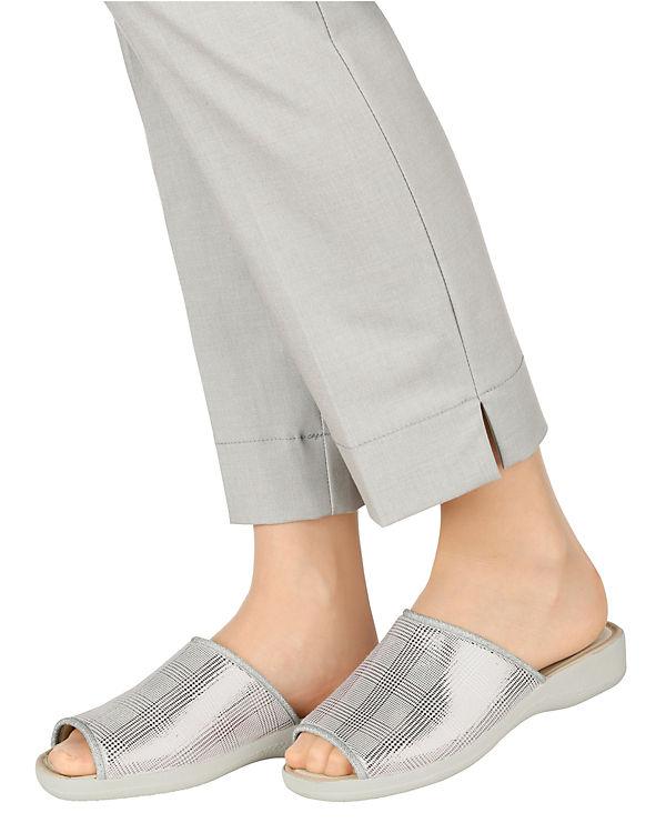 Pantoletten weiß-kombi