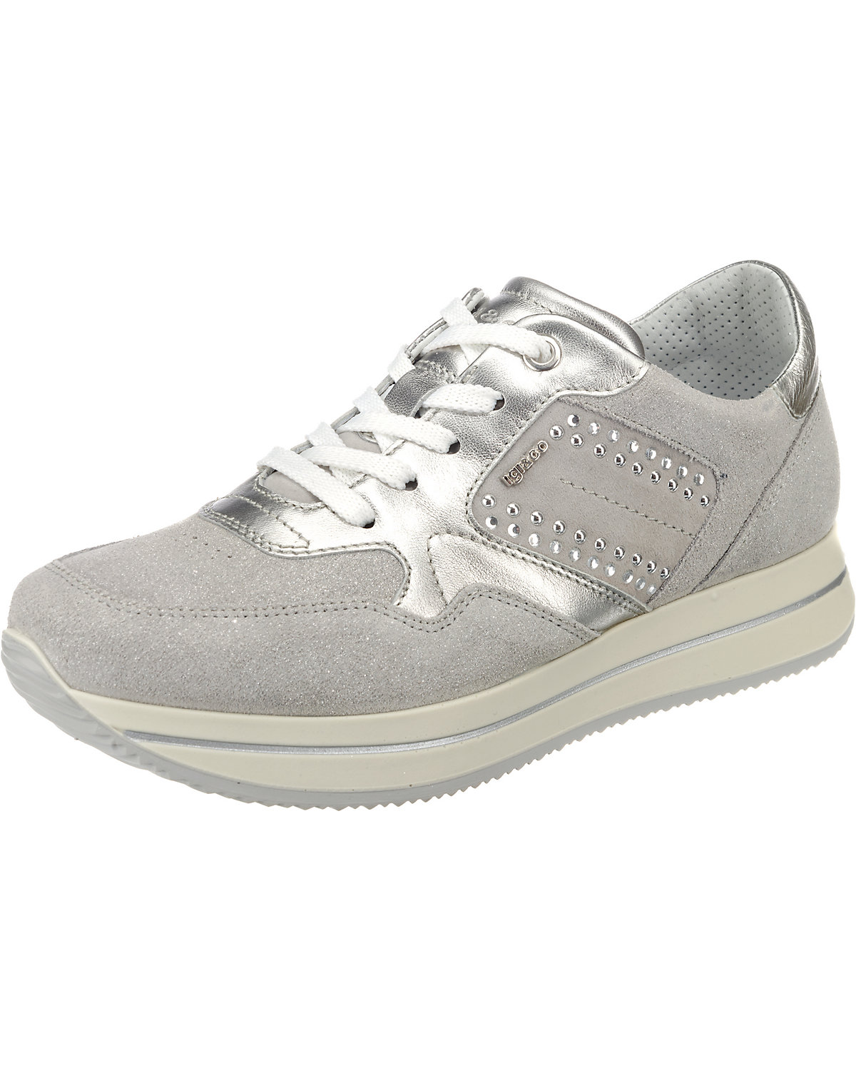 IGI & CO, DKU 11542 Sneakers Low, silber