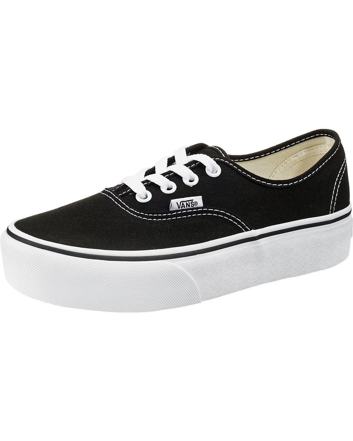 VANS, UA Authentic Authentic UA Plateau Sneakers, schwarz 3fa657