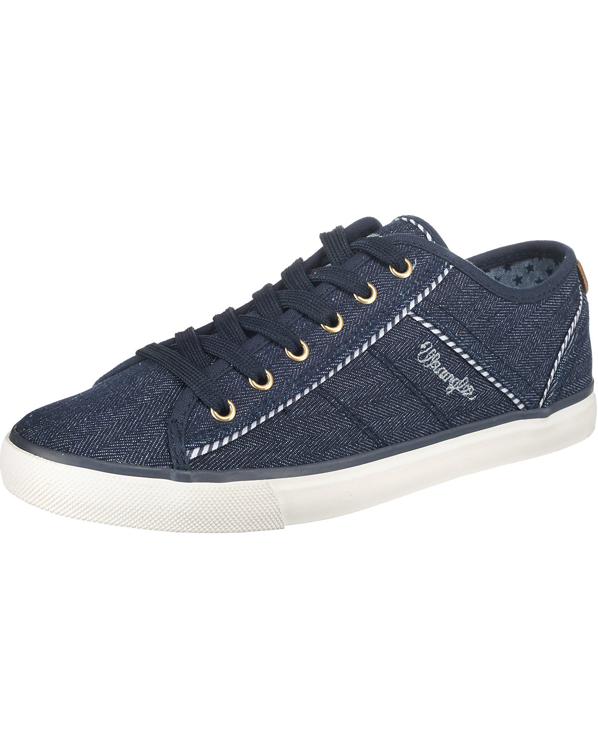 Wrangler, Starry Sneakers Low, blau