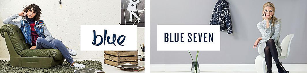 Marke Blue und Blue Seven