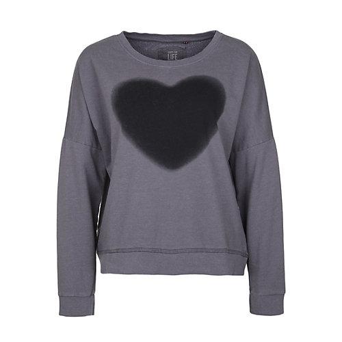SHIRTS FOR LIFE Sweatshirt KATHI SPRAY grau Dam...