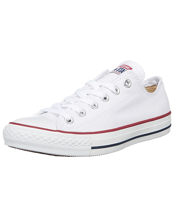 All Star Ox Sneakers Chuck CONVERSE Low Taylor weiß q7xnpSw4