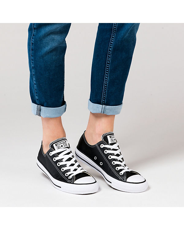 CONVERSE, Ox Chuck Taylor All Star Ox CONVERSE, Sneakers Low, schwarz ee17d1