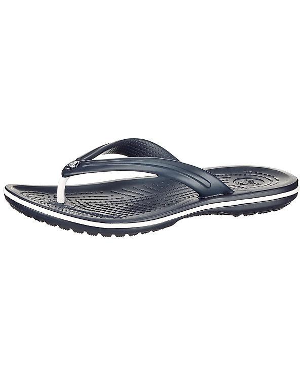 crocs Crocband Flip Navy Zehentrenner dunkelblau