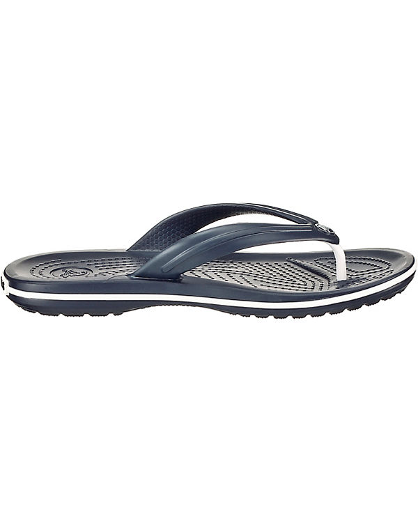 crocs Crocband Flip Zehentrenner dunkelblau