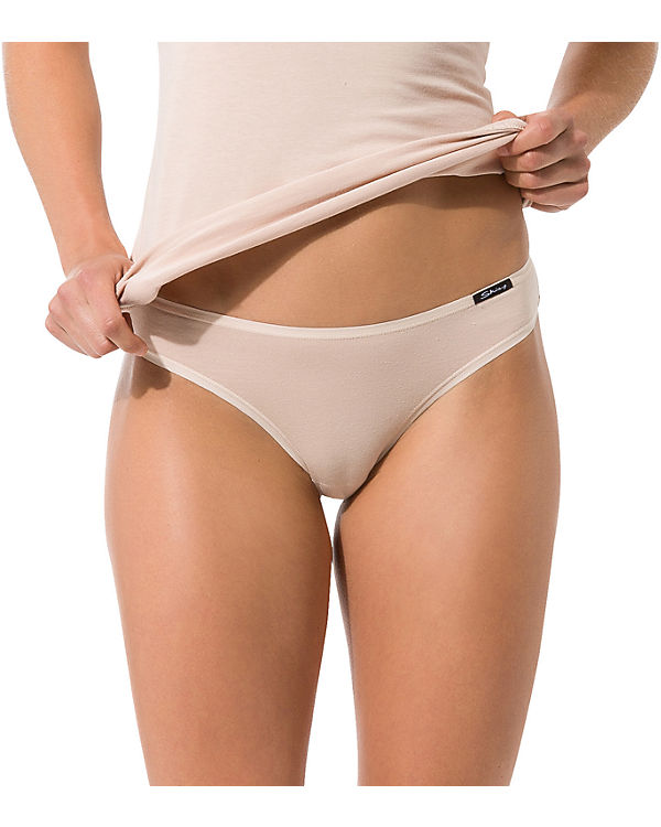 Skiny Slips Doppelpack Advantage Cotton beige