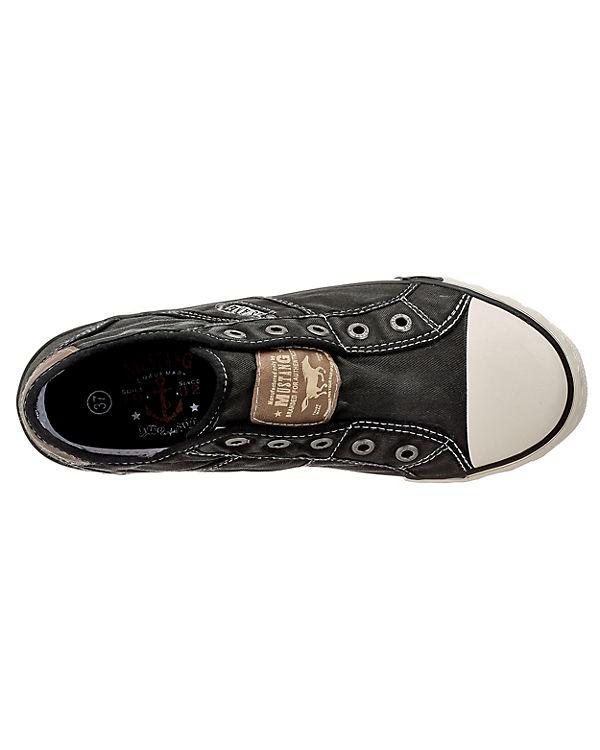MUSTANG Low schwarz Sneakers MUSTANG Sneakers HqwdBPzR
