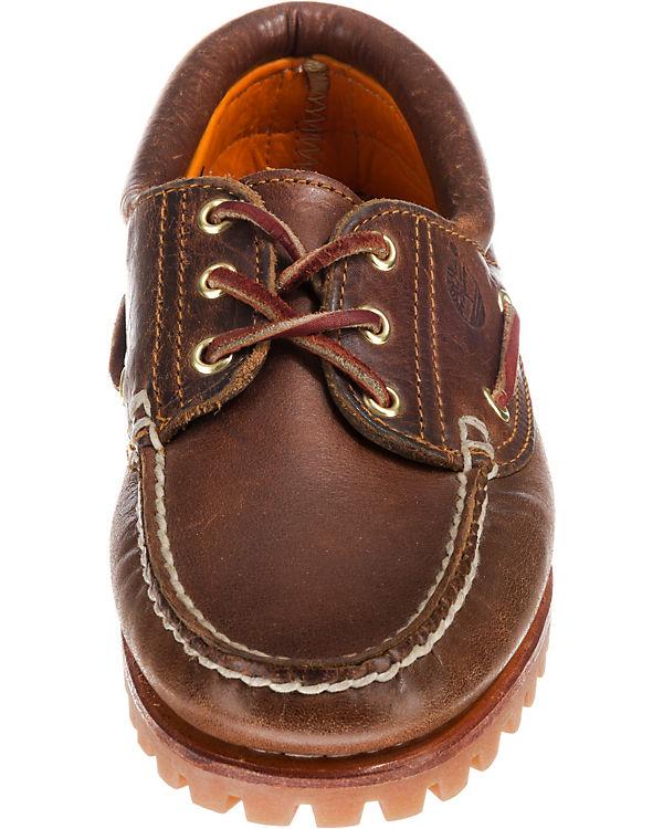 Timberland Noreen 3 Eye Brown S Brown Bootsschuhe braun
