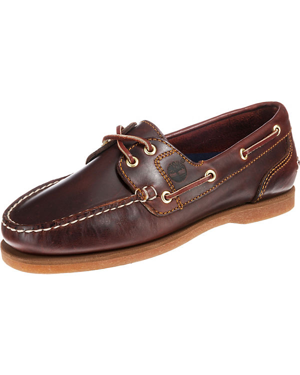 Amhrst F/L Boat Root Brown Bootsschuhe