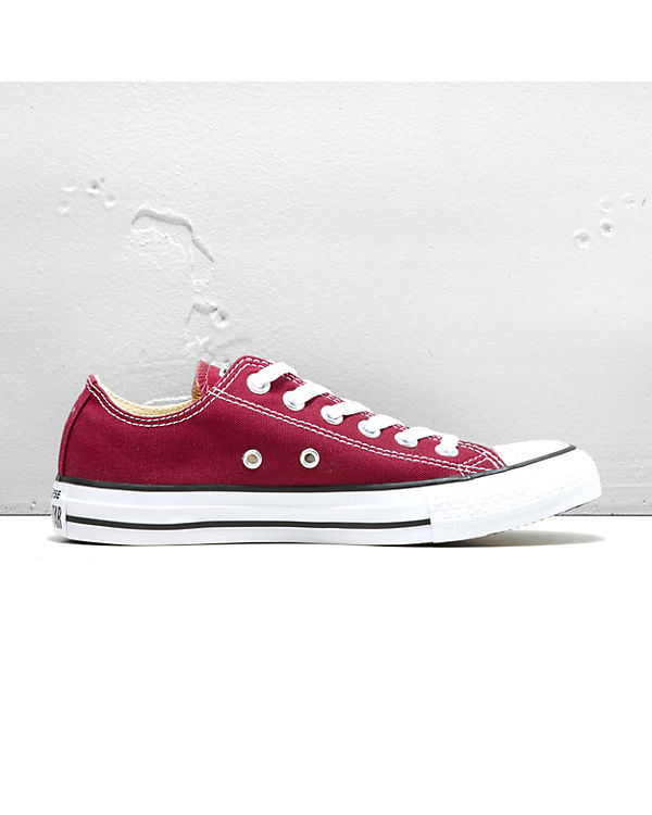 Sneakers Taylor CONVERSE Chuck dunkelrot Low All Star Ox qPBXTxgwB