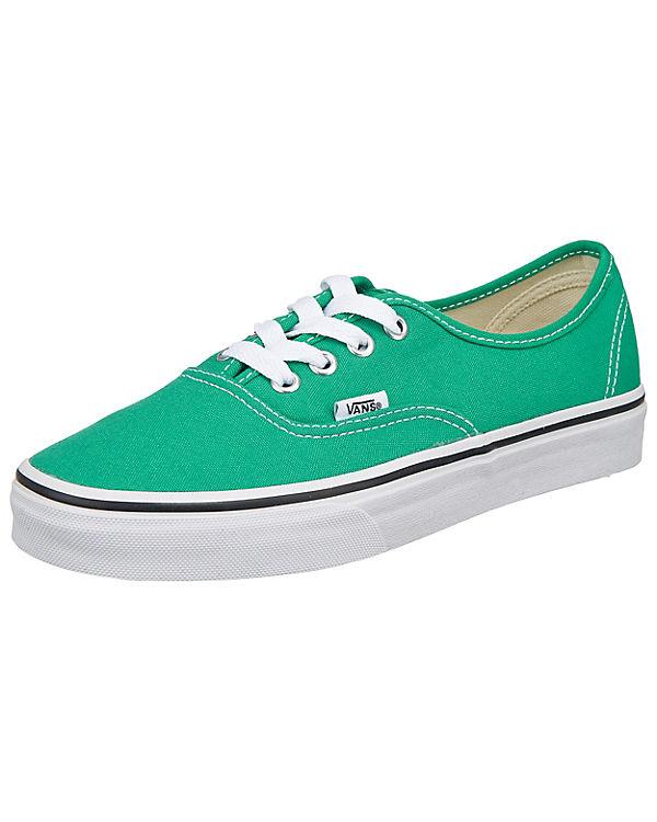 VANS, VANS Authentic Sneakers, grün grün grün bda7e0