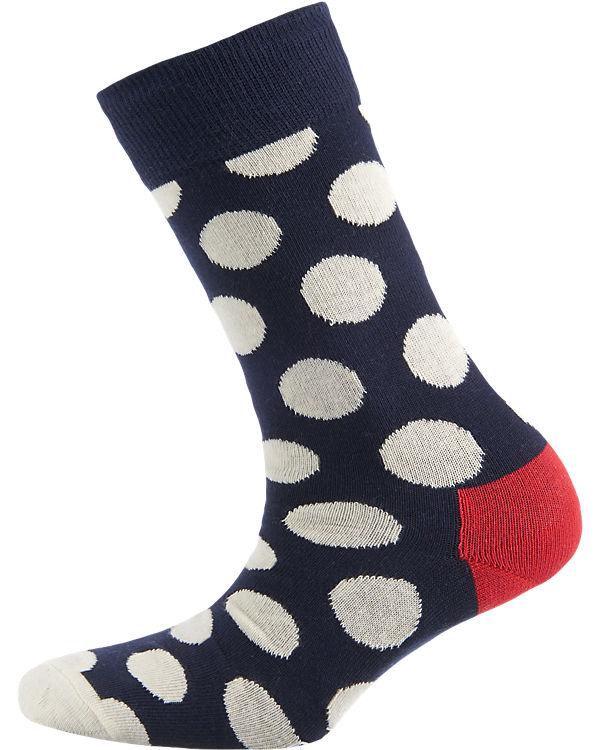 Happy Socks ein Paar Socken Big Dot blau-kombi