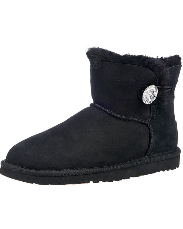 UGG Mini Bailey Button Bling Stiefel