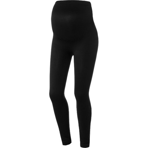 BELLY & BOOBS Umstandsleggings schwarz Damen Gr...