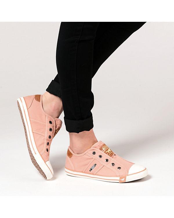 koralle MUSTANG Low Low Sneakers Sneakers MUSTANG Low MUSTANG koralle Sneakers qfwIE8Znz