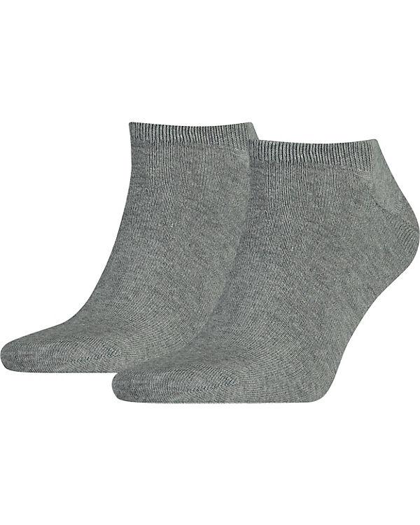 TOMMY HILFIGER TOMMY HILFIGER 2 Paar Sneakersocken Socken grau