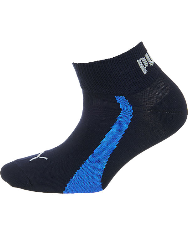 PUMA PUMA 3 Paar Kurzrsocken Socken blau-kombi