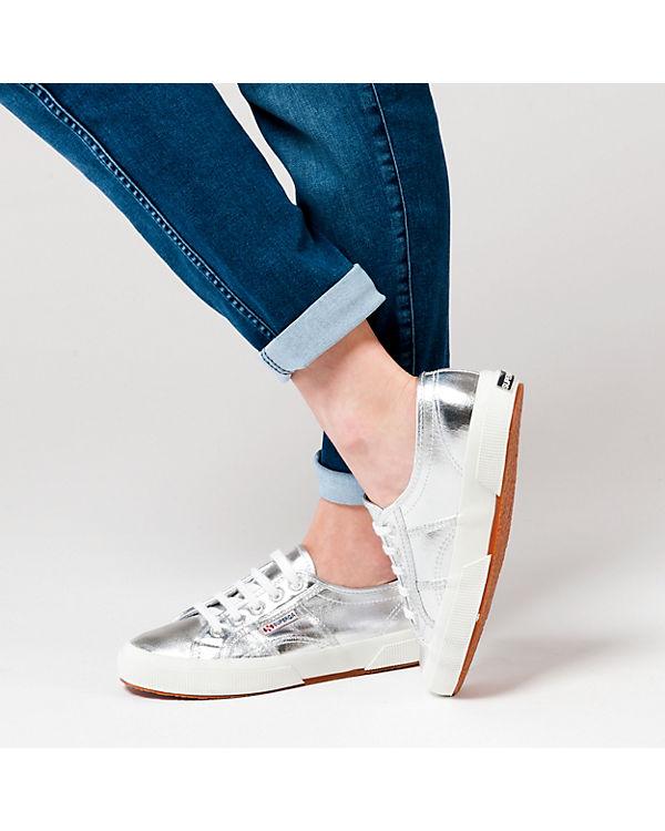 Superga® 2750-COTMETU Sneakers Low silber