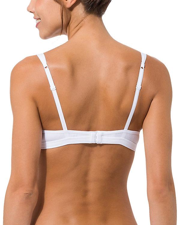 Skiny Triangel BH Essentials Women weiß