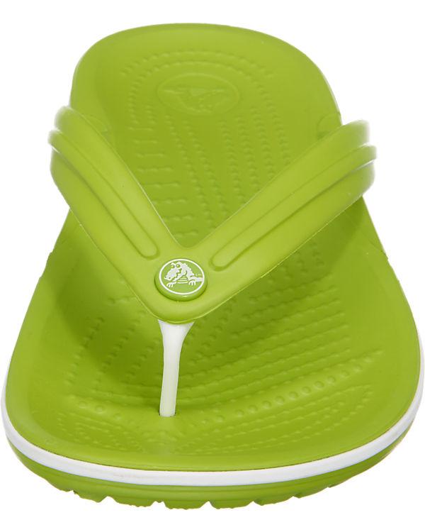 crocs CROCS Crocband Flip Pantoletten grün
