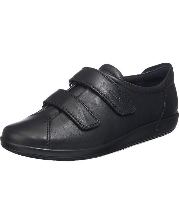 ecco, Soft schwarz 2.0  Klassische Halbschuhe, schwarz Soft b1c2a7