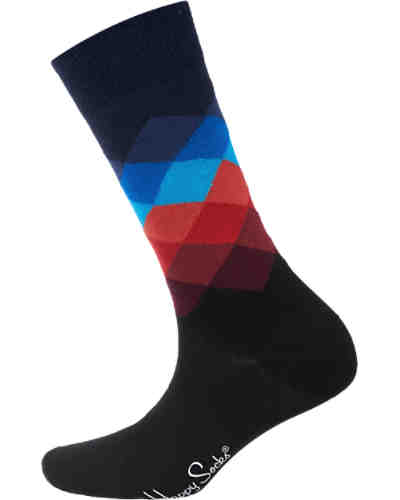 ein Paar Socken Faded Diamond