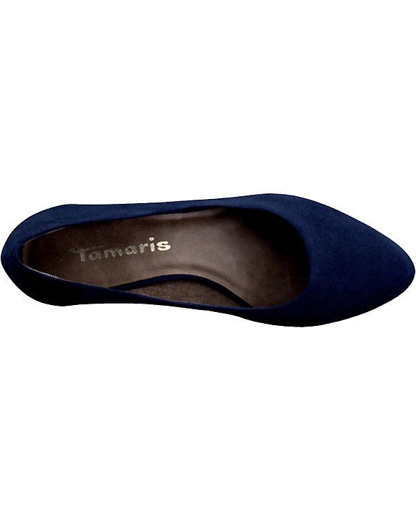 Schlussverkauf Original- Tamaris Tamaris Rossi Pumps dunkelblau 7CuAbQ