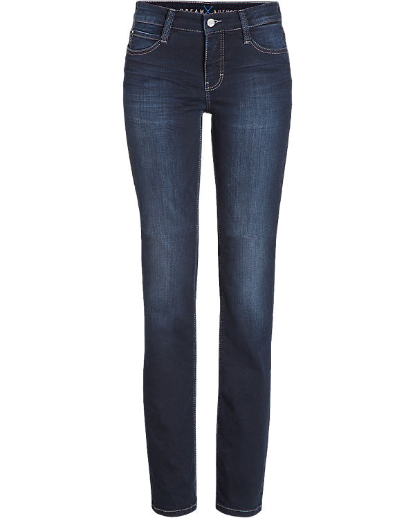 Authentic MAC dunkelblau Dream Jeans Straight BrxBqS6