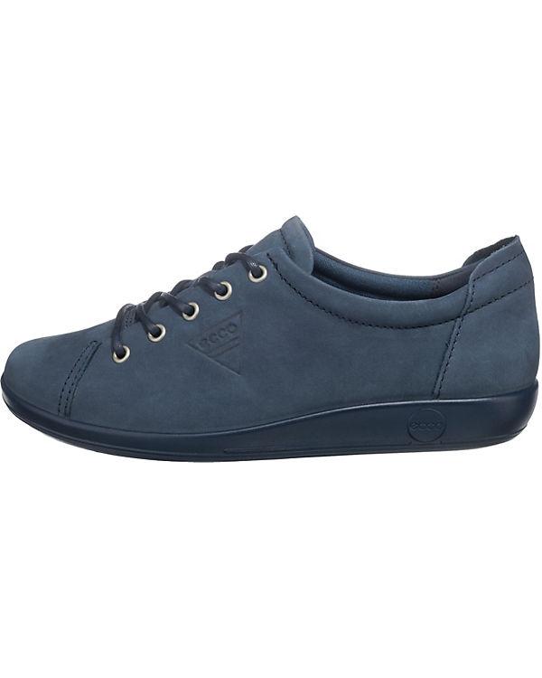 ecco Soft 2.0 Marine Moon Sneakers Low blau