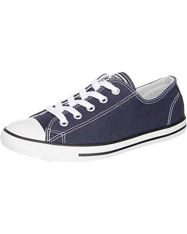 CONVERSE Chuck Taylor All Star Dainty Ox Sneakers Low dunkelblau
