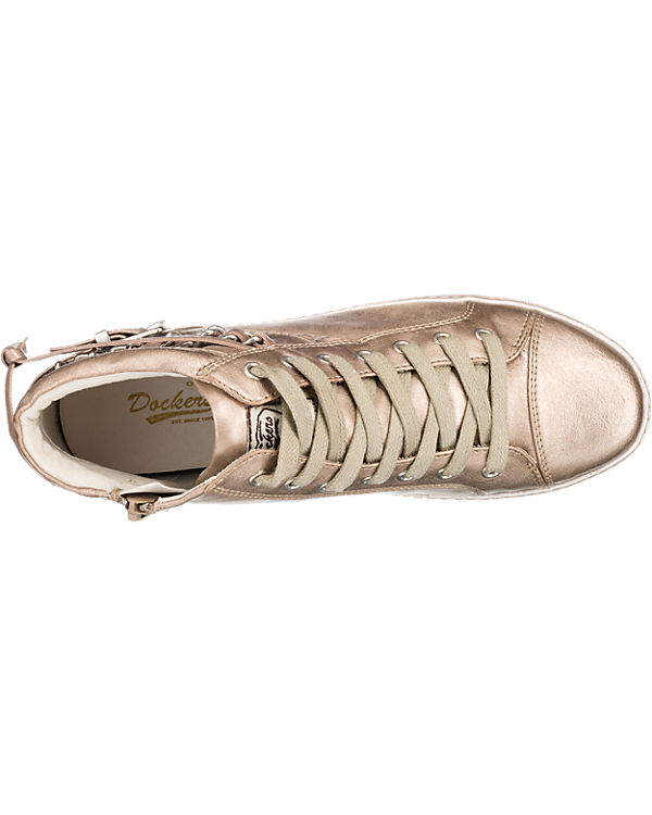 Dockers Gerli by Gerli, Dockers by Gerli Dockers Nessi Sneakers, bronze 9be484