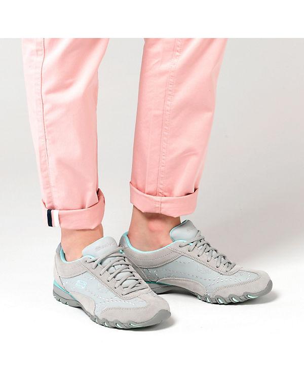 SKECHERS Speedsters Lady Operator Sneakers Low weiß-kombi
